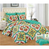 Buy cheap Reversible 6pcs Comforter Set Printed Floral Bedding Set Premier Quality 1200 Egyption Cotton Touch from wholesalers