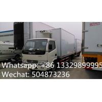 Buy cheap CLW brand 3tons refrigeratated truck with meat hooks for sale, best price 3-5tons cold room truck for fresh meat/beef from wholesalers