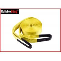 Buy cheap Custom Off Road Winch Polyester Heavy Duty Tow Straps with Reinforced Eyes from wholesalers