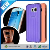 Buy cheap Crystal TPU Galaxy Cell Phone Cases , Gel Bumper Clear Back Cover from wholesalers