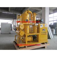 Buy cheap Vacuum oil Filter/ Insulation Oil Purification Plant/Transformer oil filtering machine from wholesalers