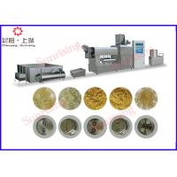 Buy cheap Spaghetti Noodle  Pasta Production Line Single Screw Fully Automatic 100kg Per Hour from wholesalers