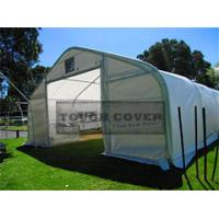 Buy cheap 7.9m(26') wide, Portable Carport, Chinese Steel fabric Structures,Storage tent from wholesalers