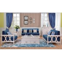 Buy cheap European Contemporary Style Living Room Furniture 1 + 2 + 3 Sofa Set from wholesalers
