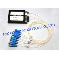 Buy cheap CWDM optical multiplexers Mux / Demux Module 8 + 1 Channel High Isolation from wholesalers