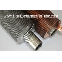 Buy cheap Helicoidal Groove Cooling Embedded Fin Tube Machine , G Type Alu & Copper from wholesalers