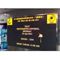 Buy cheap SMD P3 Indoor Advertising LED Display Big LED Video Wall Front Service from wholesalers