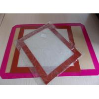 Buy cheap food grade macarons silicone baking mat from wholesalers