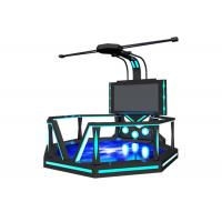 Buy cheap Commercial 9D Virtual Reality Game Simulator With 360 ° Rotating Platform from wholesalers