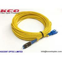 China Single Mode Fiber Optic Pigtail Cables , G657B3 Simplex Patch Cord Pigtail MU UPC on sale