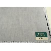 Buy cheap T / C 80 / 20 45S 110 X 76 Plain Weave Pocketing Fabric For Garments Interlining Cloth from wholesalers