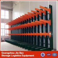 Buy cheap 4 Tier Metal Steel Heavy Duty Cantilever Storage Racks Systems 500-2000kg / Layer from wholesalers