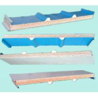 Buy cheap Insulative PU Sandwich Board Panels for Cold Storage Buildings Made in China product