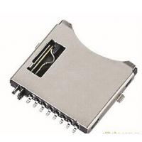 Buy cheap Small MP4 Player / MP3 Player TF Card Connector Holder 8 Circuits ROHS UL HF from wholesalers