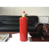 1kg Dry Powder Fire Extinguisher Red Portable Fire Fighting Equipment For Car