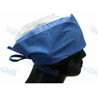 Buy cheap Doctor' S Disposable Medical Caps With White Crown , Breathable Disposable Operating Room Hats from wholesalers