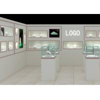 Buy cheap Modern Fashion Style Wall Mounted Display Case For Jewelry Shop Display from wholesalers