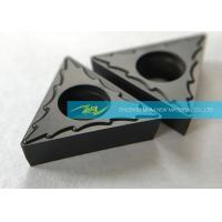 Buy cheap Steel Finishing Carbide Turning Inserts With Excellent Chip Breaking Effect product