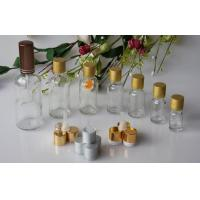 Buy cheap White Transparent Essential Oil Glass Bottles With Cap And Dropper from wholesalers
