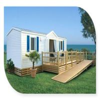 Buy cheap European Prefab Mobile Homes / Moistureproof Double Wide Mobile Home from wholesalers
