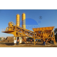 Buy cheap Air Compressor 18.5mX3.9mX8.2m 75m3 Mobile Concrete Batching Plant from wholesalers