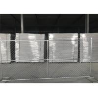 Buy cheap 72 tall x 144 width /6'x12' temporary chain link fence 1.625' tube wall thick 1.2 1.6mm and 1.8mm etc from wholesalers