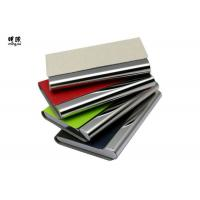Buy cheap Pocket Business Card Holder Organizer, Leather Credit Card Holder With Name product