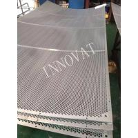 Buy cheap 5mm thick Stainless Steel/Carbon Steel Perforated Metal Sheet (304) from wholesalers