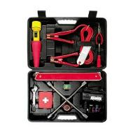 Buy cheap 40 pcs auto emergency kit ,with booster cable ,cross wrench,air compressor ,fuse from wholesalers