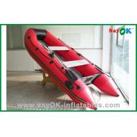Buy cheap Red PVC Inflatable Boat PVC Tarpaulin Inflatable Fishing Boat from wholesalers