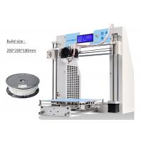 Buy cheap Office Digital Rapid Prototyping 3D Printer PLA Filament Metal Frame from wholesalers