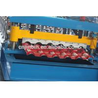 Buy cheap 2017 Roll Forming Metal Glazed Low Price Roof Tile Making Machine from wholesalers