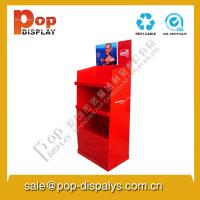 Buy cheap Square Cardboard Floor Display Stands , Retail Display Shelves from wholesalers