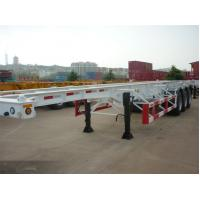 Buy cheap Hot sale 20 footer 40 footer container chassis with FUWA axles container semi trailer from wholesalers