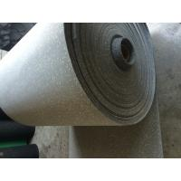 Buy cheap Comfortable Rubber Sheet Roll Anti Skid Customized / Grey Speckled Color from wholesalers