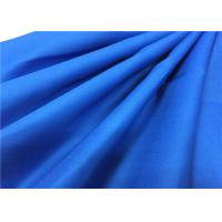 Buy cheap Soft Blue Dyeing Drill Cotton Canvas Fabric For Spring Summer Clothes from wholesalers