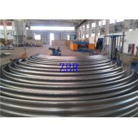 Buy cheap PLC Actomatical Control Steel Silo Forming Machine , Corrugated Sheet Roll product
