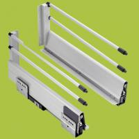 Buy cheap simple push type installation damping drawer slide with paint 1416182022 from wholesalers