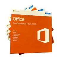 Buy cheap Office Microsoft Online Pack 2016 Professional Plus 5PC With DVD Retail Package from wholesalers