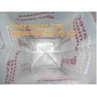 Buy cheap Frosted Plastic Bags, flexi loop handle, die cut handle, block bottom, string bag, Jewelry product