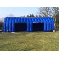 Buy cheap Commercial Blue Inflatable Tent Mobile Car Garage Blowup Tent from wholesalers