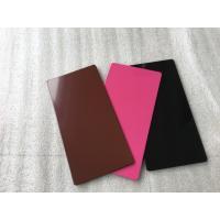 Buy cheap Lightweight Green Aluminium Composite Sheet , Decorative Aluminum Sheet product