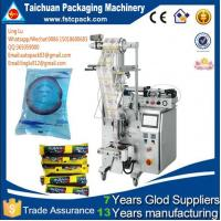 Buy cheap tomato ketchup /fruit juice packing machine in small business low cost ---TCLB-160P from wholesalers