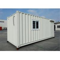 Buy cheap Steel Luxury Modular Prefab Shipping Container Homes Flat Fold Stackable from wholesalers