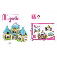 Buy cheap 90 Pcs DIY Assemble Magetic Children's Plastic Building Blocks Multicolor Non - Toxic product