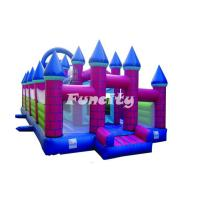 Buy cheap Guard Castle Inflatable Bouncy Castle For Kids Holding Party / Having Fun from wholesalers