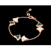 Buy cheap DIVAS' DREAM bracelet in 18 kt pink gold with malachite and morther of pearl from wholesalers