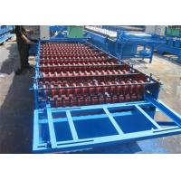 Buy cheap 380V 60HZ Aluminum Automatic Roll Forming Machines With PLC Control System from wholesalers