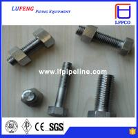 Buy cheap Best selling bolt and nuts astm a193 gr b7 stud bolt with hex nut from wholesalers