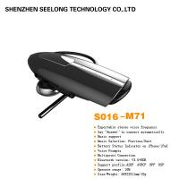 Buy cheap Black Wireless Mono Bluetooth Headset Stereo ABS & PVC BCM For Computer from wholesalers